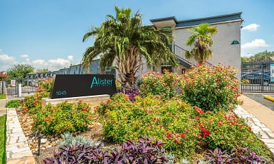 Community Signage, Alister Apartments, 0