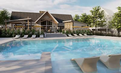 Pool, The District at Ashland, 0