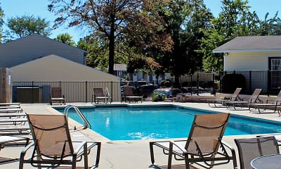 Pool, Timberchase Apartments, 1
