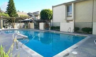 Pool, Cedar Glen Apartments, 1