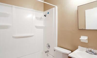 Bathroom, Crescent Valley Apartments, 2