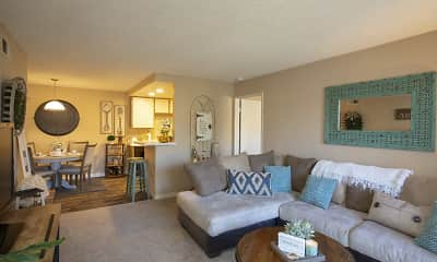 Living Room, Wintercrest Village, 1