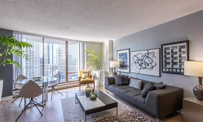 Living Room, Tower 801, 1