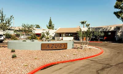Community Signage, Azura Apartments, 2