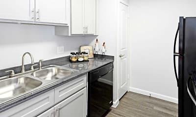 Kitchen, The Ranch At Midland Apartments, 1