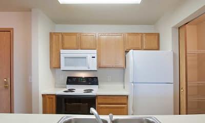 Kitchen, West Winds Apartments, 1