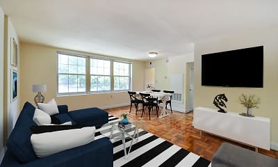 Living Room, Shipley Park, 0