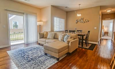 Living Room, Chisholm Lake Apartments, 0