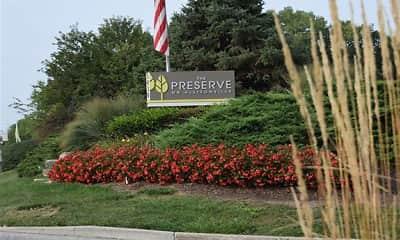 Community Signage, The Preserve at Allisonville, 0