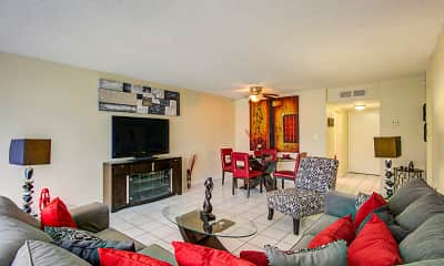 Living Room, The Palms at Forest Hills, 0