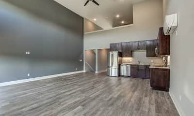 Kitchen, Parkside Lofts, 0