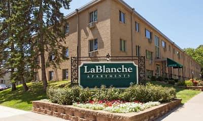 Community Signage, LaBlanche Apartments, 2