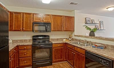 Kitchen, Stone Ridge Apartments, 1