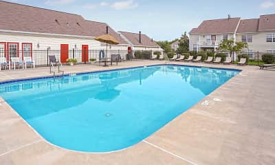 Pool, Larkin Creek Luxury Apartments, 1