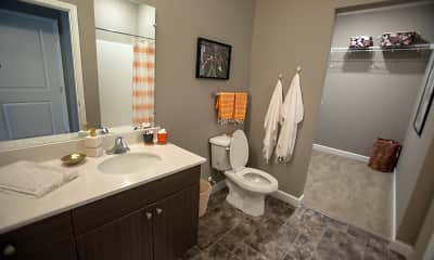 Bathroom, 303 Flats Student Living - PER BED LEASE, 2