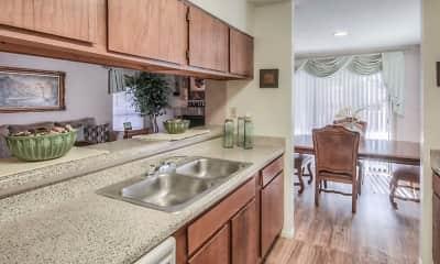 Kitchen, Oaks of Ashford Point, 1