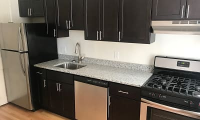 Kitchen, Mount Vernon Apartments, 0