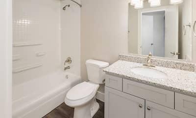 Bathroom, Ascent Apartments, 2