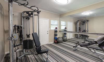 Fitness Weight Room, Canyon Creek, 2