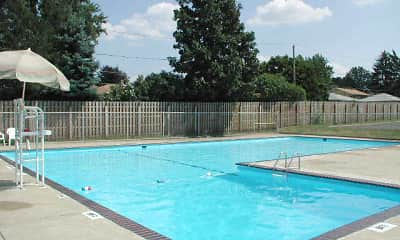 Pool, Westview North Apartments, 1