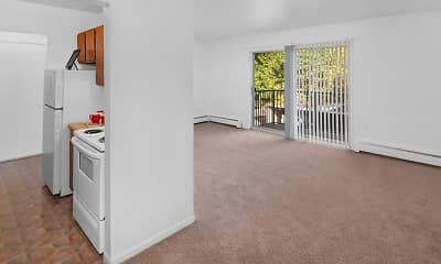 Kitchen, Warren Club Apartments, 0