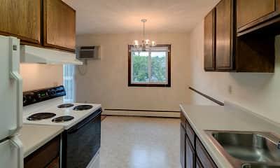 Kitchen, Lamplighter Village Apartments, 1