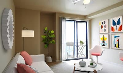 Living Room, 2300 Elliott, 2