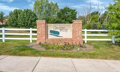 Community Signage, Charter Woods, 2