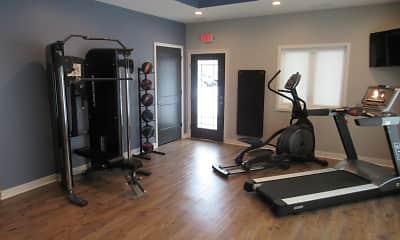 Fitness Weight Room, Crosswinds, 2