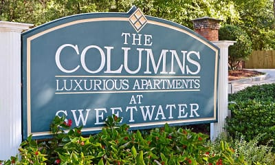 Community Signage, The Columns At Sweetwater Creek, 2