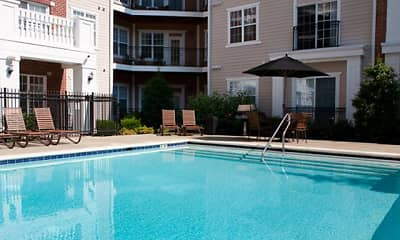 Pool, Alexander Apartments, 0