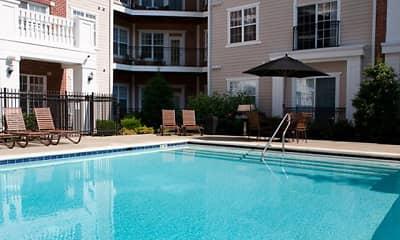 Pool, Alexander Apartments, 0