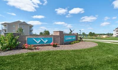 Community Signage, Leander Lakes Luxury Apartment Homes, 0