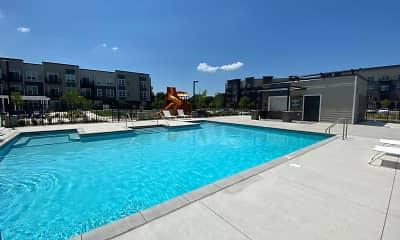 Pool, Urbana Court Apartments, 2