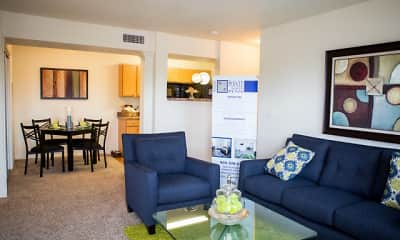 Living Room, The Pointe at North Penn, 1
