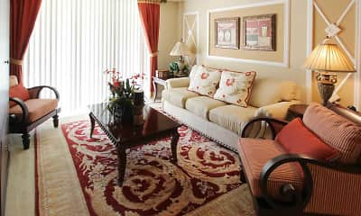 Living Room, Vista Verde at Coconut Creek, 1