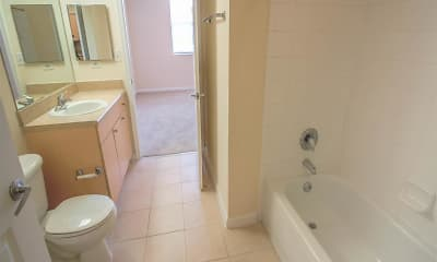 Bathroom, The Winston Apartments, 2