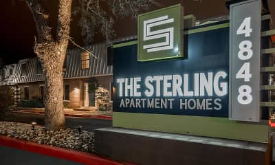 Community Signage, The Sterling, 1