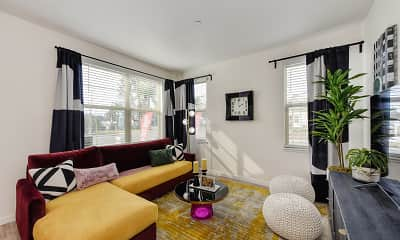 Living Room, Morgan Ranch Apartment Homes, 0