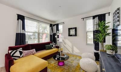 Living Room, Morgan Ranch Apartment Homes, 0