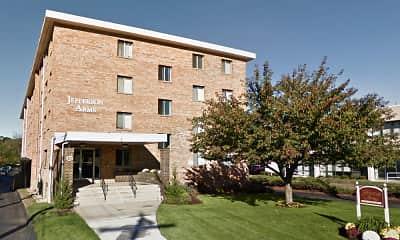 Building, Jefferson Arms Apartments, 0