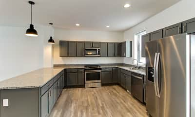 Kitchen, Portview Townhomes, 1