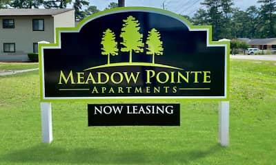 Community Signage, Meadow Pointe Apartments, 0