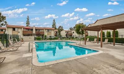 Pool, Walnut Park Apartment Homes, 1
