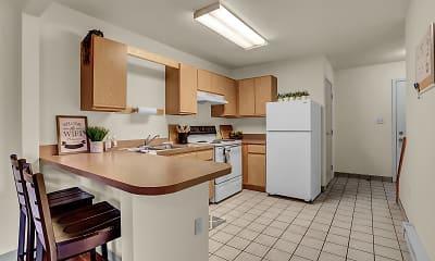 Kitchen, Shippensburg Townhouses, 1