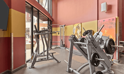 Fitness Weight Room, Northpoint Crossing, 0