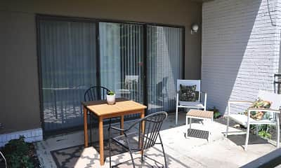 Patio / Deck, AURA APARTMENTS, 2