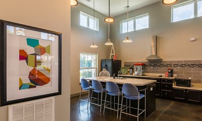 Dining Room, The Annex of New Albany Student Housing, 2