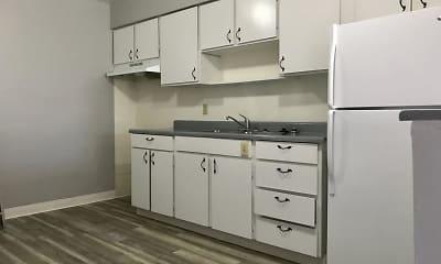 Kitchen, Hillcrest Apartments, 1