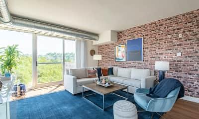 Living Room, Apex Manayunk, 1